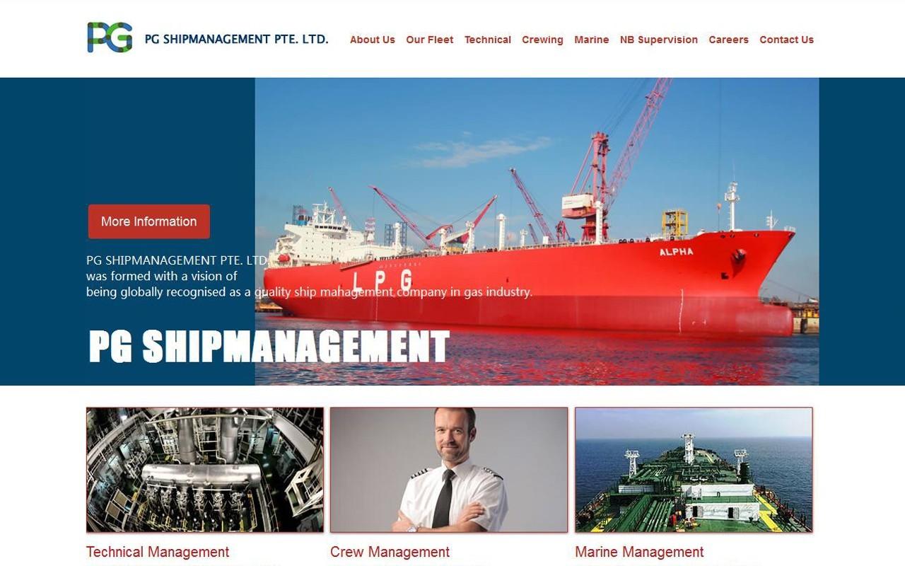 PG SHIPMANAGEMENT PTE. LTD.缩略图