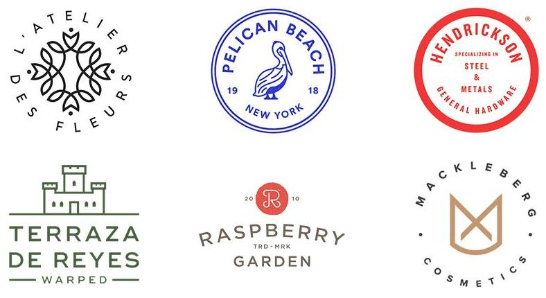 2018年公司logo十大流行设计趋势图片