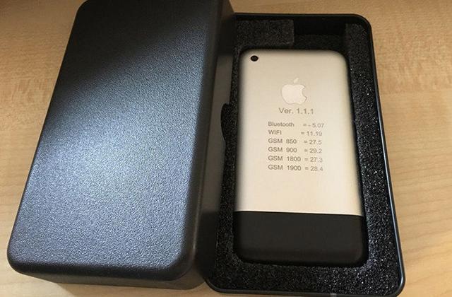 初代iPhone原型机现身eBay网引回忆杀:它身上有乔帮主的影子